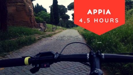 appian way bike tour rome