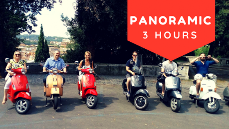 panoramic vespa tour rome