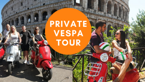 private vespa tour rome